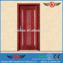 JK-SD9006 nouveau design porte bois unique en bois / teck en bois massif prix porte