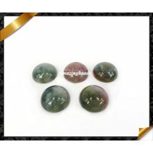 India Agate Cabochon, Round Cabochon, Gemstone Beads Cabochon (AG025)