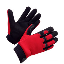 Factory Price Synthetic Leather Working Safety Mechanic Gloves