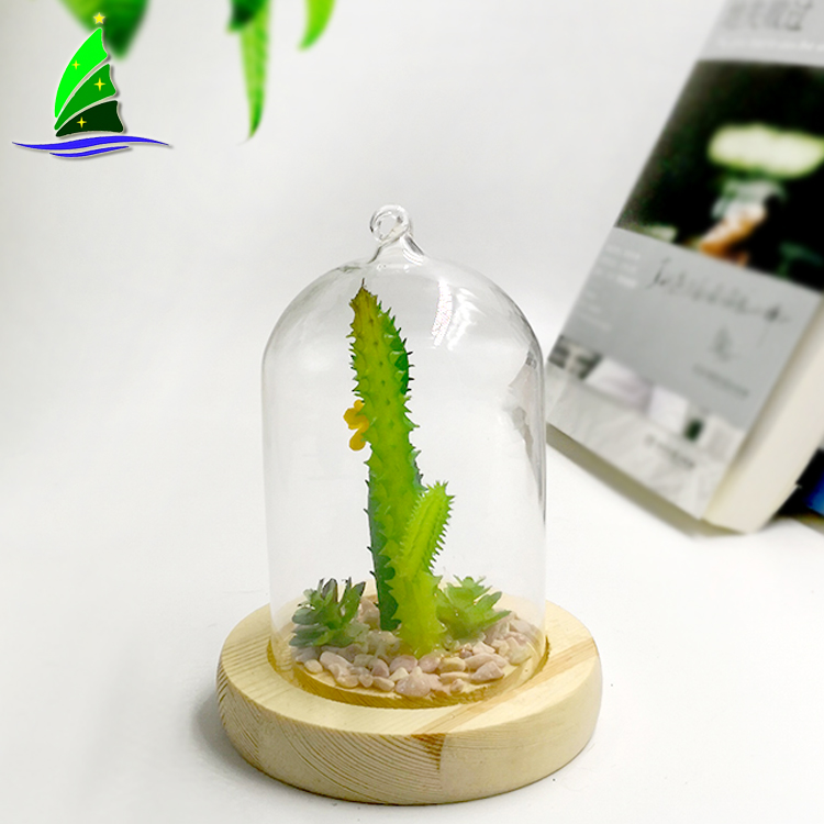 Table Geometric Clear Gass Plant Terrarium