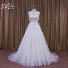 China Alibaba A-Line Bridal Dress Bead