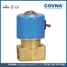 Клапан прямого действия с клапаном прямого действия латунный G1 / 4 электромагнитный клапан