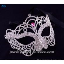 Fantasia, cristal, Cor-de-rosa, mascarada, máscara, princesa, Cristal, Partido, cidade ...