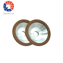 11V9 75/100/125mm Resin bond diamond cup grinding wheels for carbide tools
