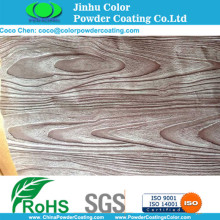 Sublimation Powder Painting with Woodgrain Patterns