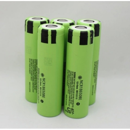 18650 Batterie Panasonic NCR18650BE 3200mAh 3.63A décharge