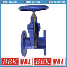 DIN3352 F4 F5 Resilient Seated Gate Valve Wras Approved Handwheel Operated Spur Gear Operated Electric Actuated