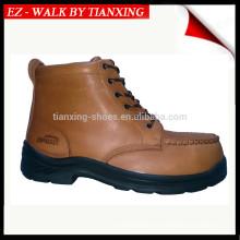 Chaussures de sécurité en PU / RUBBER avec embout d'acier