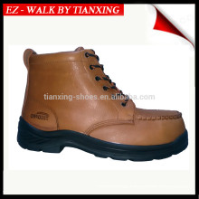 PU/RUBBER outsole safety shoes with steel toe