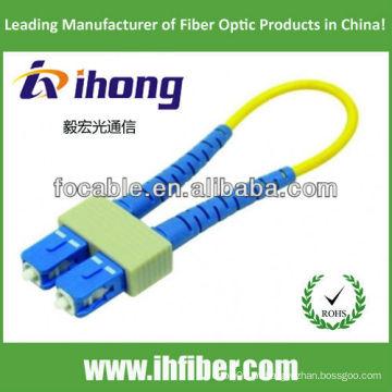 SC de fibra óptica loopback