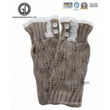 Gants tricotés Trenchy Lady Lovely Winter Warm Lace Knit