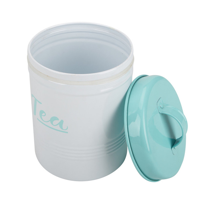 Color-Coated Steel Tea Coffee Storage Set