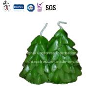 Prix de gros d'usine pour la bougie d'arbre de Noël