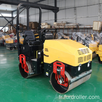 Seat type vibratory roller soil vibratory compactor roller compactor machine FYL-900