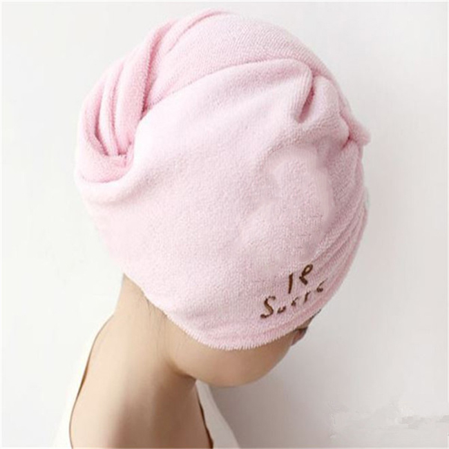hair towel cap