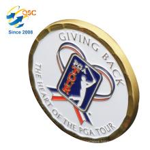 Factory Direct Antique Gold Metal Souvenir Challenge Coin