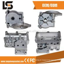 Excelente pressão de qualidade Casting de fundição de precisão de alumínio com acabamento de usinagem