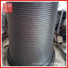 Vente en gros de câbles en acier galvanisé (fabrication)