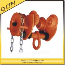 Hohe Qualität 0,5-5 t Push Getriebe Trolley / Hoist Trolley / Cargo Trolley