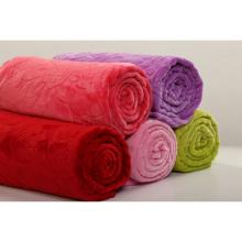 Stock Flannel Blanket in Solids