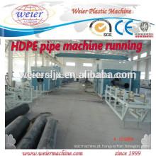 Tubos de PEAD PE PP PPR tornando máquinas linha de tubulação plástica