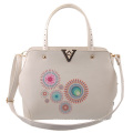 Guangzhou Supplier Designer PU Leather Handbags Printing Bag for Lady Handbag Set (L5001)
