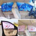 Pare-soleil magnétique de rideau de fenêtre latérale de voiture de 68 * 48cm