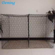 Bubuk Dilapisi Hexagonal Woven Gabion Box Price