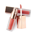 Wholesale lipgloss private label lipgloss rose gold lipgloss