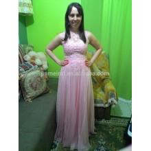 Los vestidos calientes del huésped de la boda de la venta Appliqued rebordearon los vestidos de noche largos 2016 Vestidos rápidos del baile de fin de curso del envío Vestidos De Fiesta