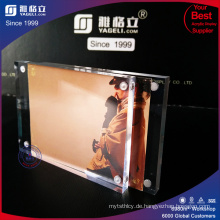 Klare Acrylbild-Foto-Magnetblock-Rahmen