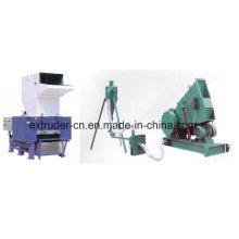 Máquina de esmagamento do PVC do triturador plástico