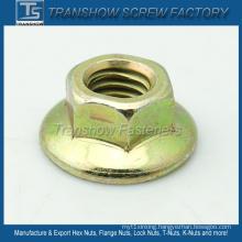 American Standard Prevailing-Torque Hex Flange Nut