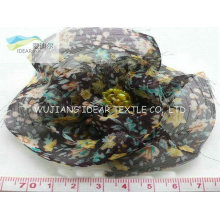 Printed Polyester Chiffon For Brooch