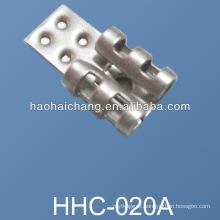 Terminal fêmea da bateria da soldadura de aço inoxidável para o calefator do carro 12v elétrico