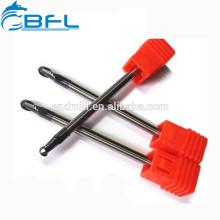 BFL - 2 corta a ferramenta de alumínio de trituração do cortador do nariz da bola do CNC / cortador do CNC