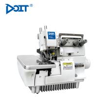 DT 700-3-16S 1 aguja 3 hilos plana cama ribete estrecho industrial overlock máquina