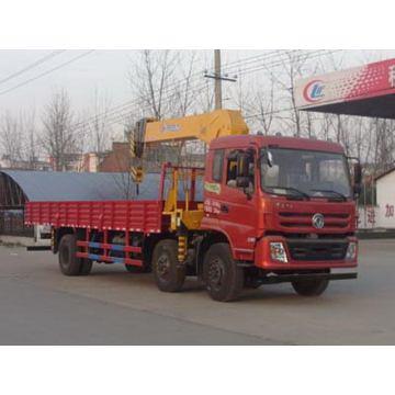 Dongfeng Teshang 6X2 Truck With Loading Crane