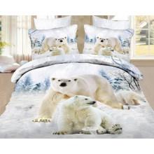 Bär Designs von Siebdruck Stoff für Bettlaken