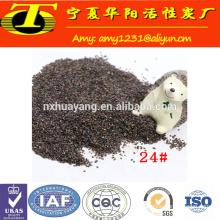 China manufacture waterjet cutting abrasive garnet 80 mesh