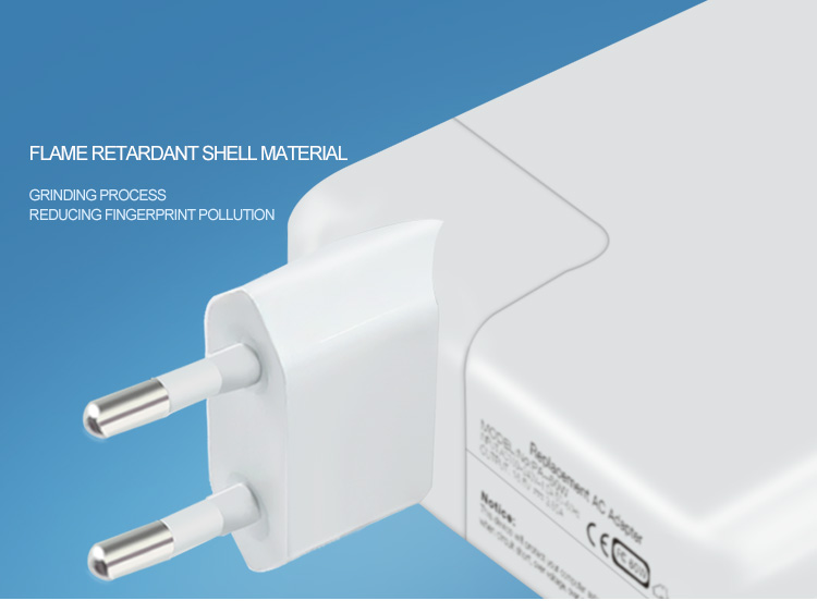 14.5V 3.1A EUplug apple macbook charger