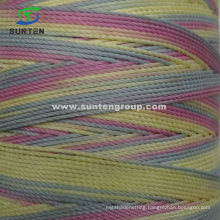 Colorful (210D/380D) High Tenacity PE/PP/Polyester/Nylon Plastic Twisted/Braided/Baler/Thread/Packing Line/Fishing Net Twine by Spool/Reel/Bobbin/Hank