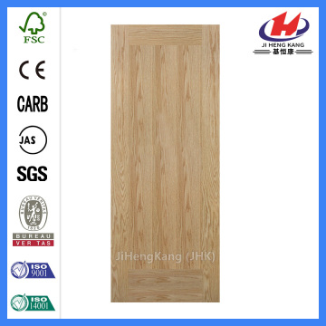 JHK-F01 Flat Best HDF Red Oak Door Skin