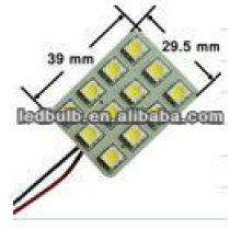 Led car light led car dome lamp 12pcs 5050 SMD