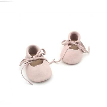Borong Kulit Moccasins Baby Shoes Girls