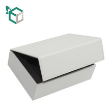 Delicate cardboard book shape Leather PU magnetic creative design environmental gift boxes