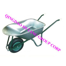 Russia galvanize tray wheelbarrow