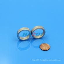 NdFeB aimant d'anneau radialement magnétisé