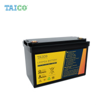 MSDS Certificated 12V RV Lithium Battery 12V 100Ah Lifepo4 Battery Pack