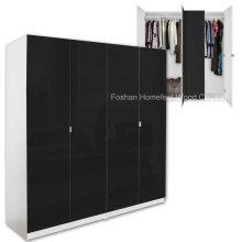 Muebles modernos al por mayor del armario del armario del dormitorio del MDF (HF-WC031)
